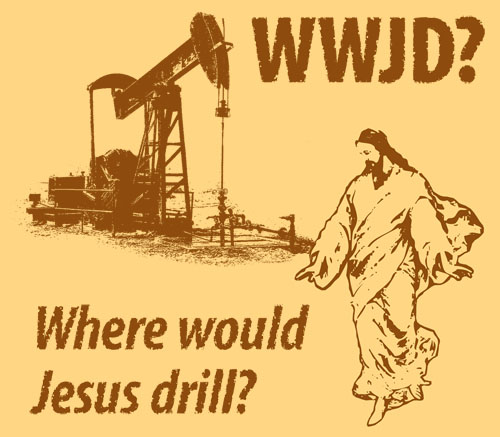 where would jesus drill?